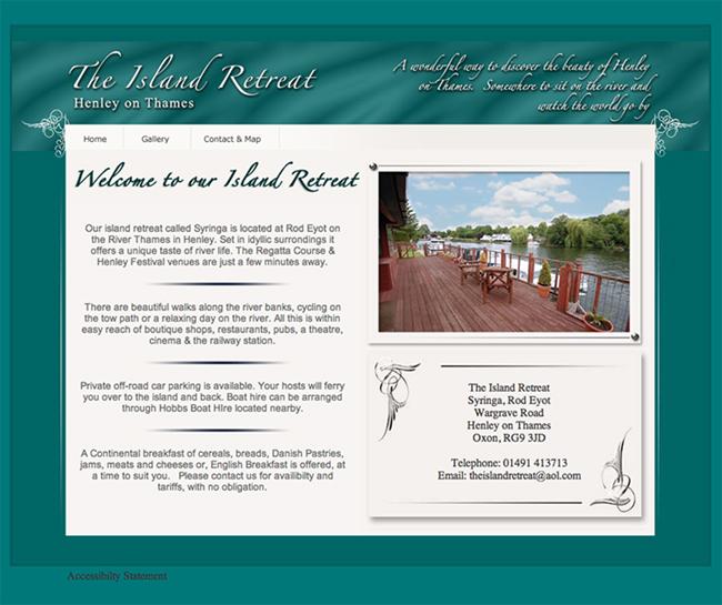 Guest House Site Design