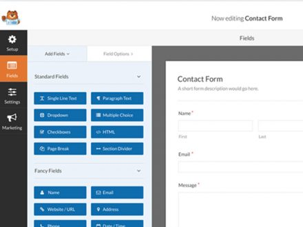 Contact Form by WPForms (Free Version)