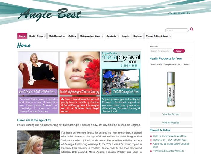 Angie Best Site Design
