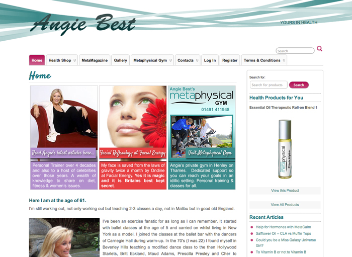Angie Best Site Design