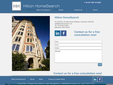 Hilton Site Design