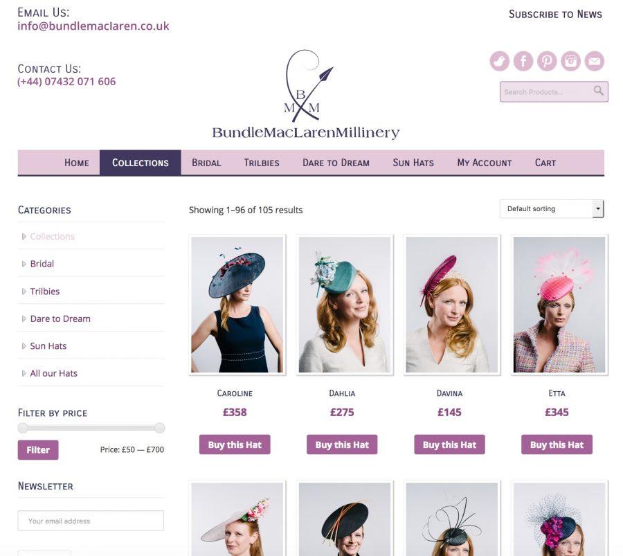 Bundle MacLaren Site Design